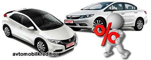 Программа автокредитования Хонда Финанс