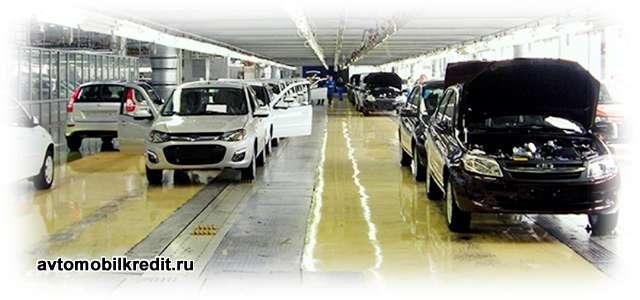 продажи отечественных авто